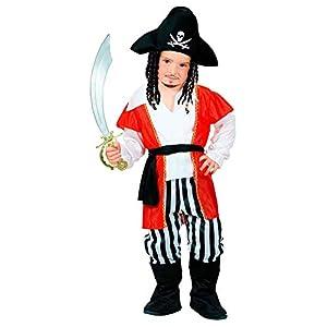 WIDMANN - Disfraz infantil de piratas, corsarios y bucaneros, multicolor, 98 cm/1 - 2 años, 48968