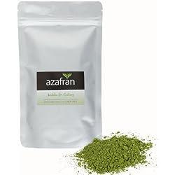 BIO-Matcha Tee Pulver 100g - Premium for Cooking aus Japan - Grüntee Pulver gemahlen aus echtem Tencha Tee von Azafran®