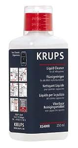 Krups XS 4000 Reinigungsflüssigkeit für die Dampfdüse, 250 ml für Euro 7,89 (100 ml = Euro 3,16)