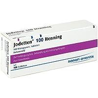 Jodetten 100 Henning 100 Mikrogramm, 100 Tbl. preisvergleich bei billige-tabletten.eu