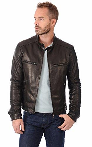 Premium Leather - Giacca - Uomo nero XL