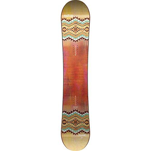 Nitro Snowboards Damen Spell'17 Snowboard, Board, 145 (Burton Snowboard-anfänger)
