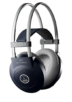 AKG K77 Black,Grey Supraaural headphone - headphones (Supraaural, 18 - 20000 Hz, 115 dB, 32 ?, Wired, 2.5 m) al miglior prezzo su Polaris Audio Hi Fi