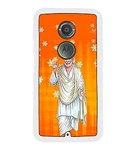 Fuson Designer Back Case Cover for Motorola Moto X2 :: Motorola Moto X (2nd Gen) (orange white yellow maharashtra nashik)