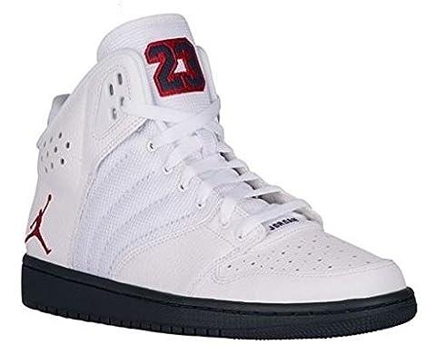 Nike Nike Jordan 1 Flight 4 Prem, Chaussures de Basketball homme - - white gym red midnight navy 164,