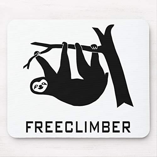 sloth faultier climber freeclimber freeclimbing mousepad