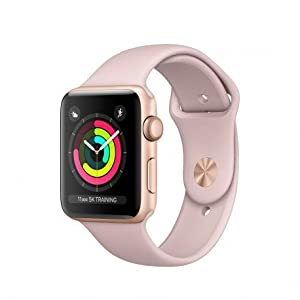 Apple Watch Series 3 OLED GPS (satélite) Oro Reloj Inteligente - Relojes Inteligentes (OLED, Pantalla táctil, GPS (satélite), 18 h, 32,3 g, Oro)