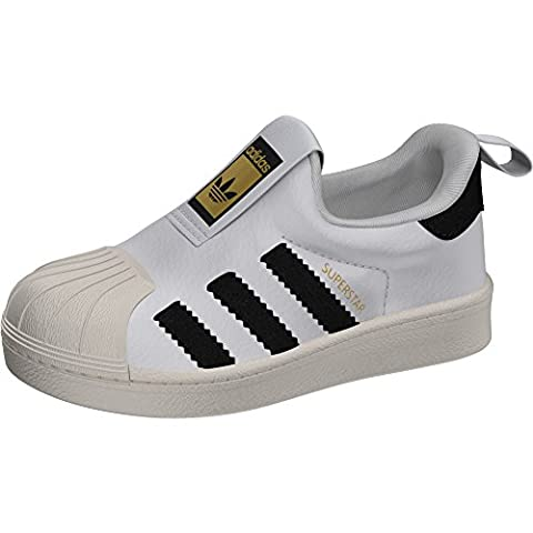 Adidas - Adidas Superstar 360 I Kinder Sportschuhe Slip On - Weiss, 20