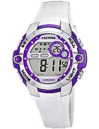 Calypso Armbanduhr Damenuhr Mädchenuhr Digital Chrono-Alarm Uhr 10 ATM K5617/3