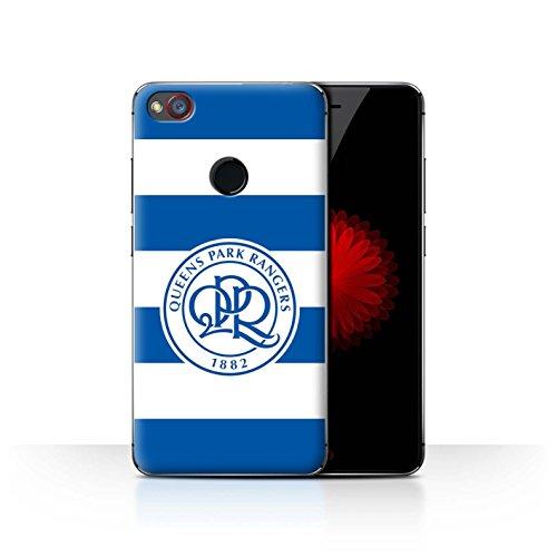 Offiziell Queens Park Rangers FC Hülle / Case für ZTE Nubia Z11 Mini / Hoops/Königsblau Muster / QPR Fußball Crest Kollektion