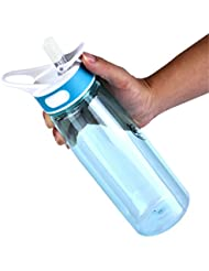 Hydration Sports Water Bottle - Leak proof - Tritan Material - BPA-Free - For Long Hikes, Trekking, Hot Yoga Class, Long Load Trip, or Any Other Outdoor Activities