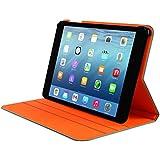 Trust Aeroo Housse Support Ultra Mince pour Ipad Air 2 - Argent/Orange