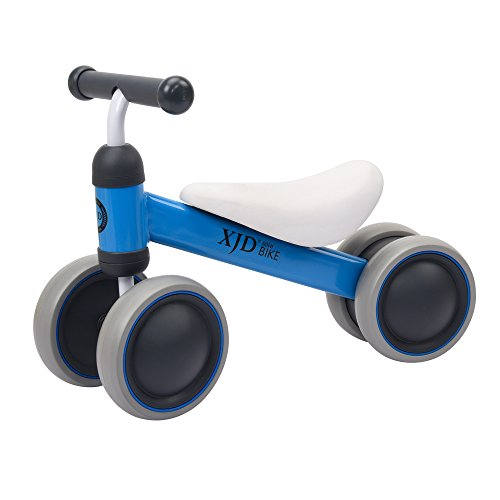 XJD Baby balance Bike Bicycle Children Walker, Toddler Trike, Kids Ride On, 10 to 24 Months Infant Walking Toys for 1 Year Old Boys Girls Indoor Outdoor� (Blue)