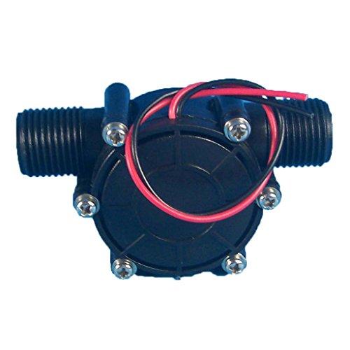 MagiDeal G1 / 2 Generador De Turbina De Agua Micro-hidro Energía DIY Herramienta De Carga para Cabeza de Ducha Llevada Mercancías Sanitarias Inductivas - Dc12v (precio: 7,01€)