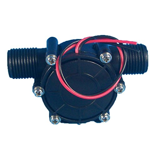 Mini Turbine Werkzeug (MagiDeal Mikro Hydro Wassergenerator Wasser Turbine Generator G 1/2 Diy Werkzeug - 12V)