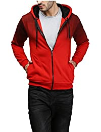 High Hill Men's Wool Hooded Sweatshirt