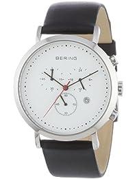 BERING Time Herren-Armbanduhr Slim Classic Chronograph 10540-404