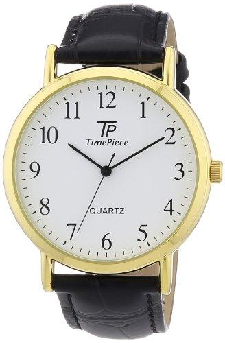Time Piece Herren-Armbanduhr XL Classic Analog Quarz TPGA-32337-13L
