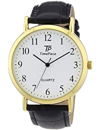 Time Piece Herren-Armbanduhr XL Classic Analog Quarz TPGA-32337-13L