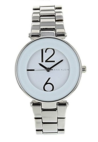 anne-klein-womens-quartz-watch-with-white-dial-analogue-display-and-silver-stainless-steel-bracelet-