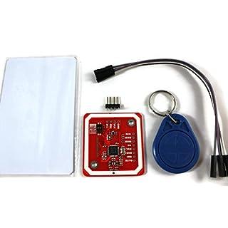 Paradisetronic.com Elechouse NFC-Kit PN532 mit RFID-Tag und MIFARE-Karte für Arduino, Android, Raspberry Pi