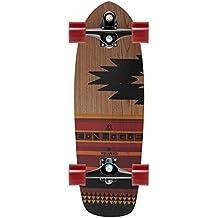 "Carver Courtney Conlogue Surf–Monopatín completo (29,5""–C7, negro"