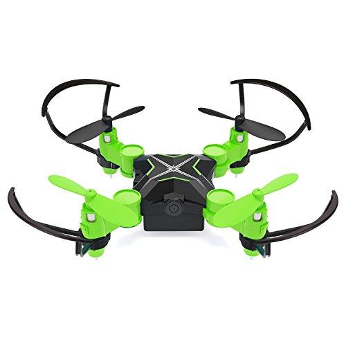Metakoo Mini Drohne mit Kamera RC Quadrocopter WiFi FPV Drone mini quadrocopter ferngesteuertes Flugzeug Spielzeug 2.4Ghz 4Kanal 6 Achsen Gyro Grün