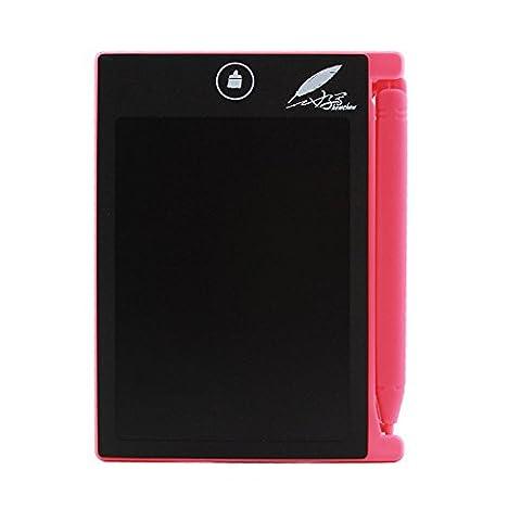 Tutoy Howshow 4.5 Zoll LCD-Schreib-Tablette Digital-Zeichnung Tablette Handschrift Ultra-Dünne Pad-Board Mit Pen -Red