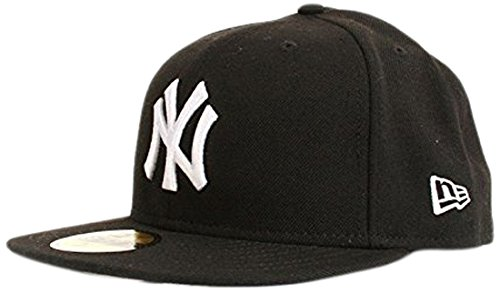 New York Yankees Cappy 59FIFTY MLB BASIC schwarz, 7 1/2 (59fifty Feld Hat)