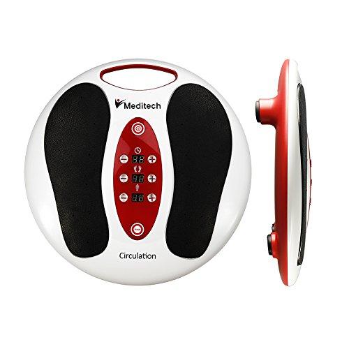 Lsnisni Meditech massaggiatore elettromagnetico del piede, ripetitore di vitalità, 99 tipi di intensità dell\'onda elettromagnetica, 25 tipi di massaggio, esperienza di massaggio ai piedi