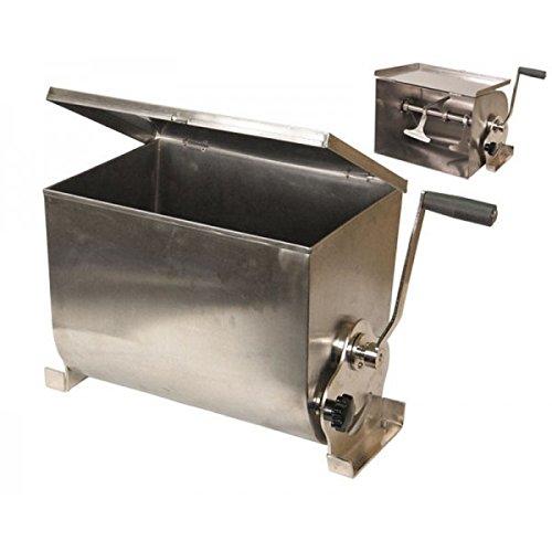 Amasadora mezcladora manual de carne garhe inox 00900