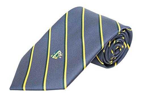 Donegal Bay NCAA Oregon Ducks gestreift Krawatte, One size, anthrazit