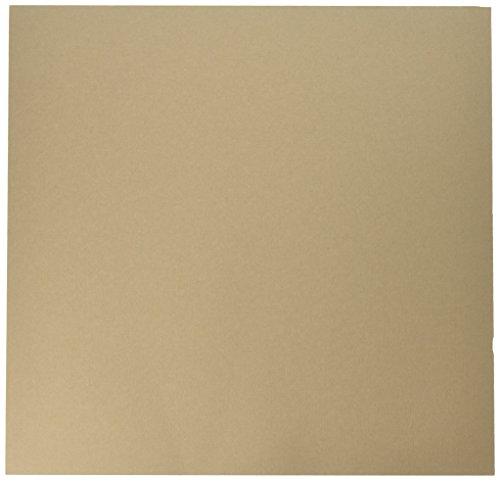 Bazzill Basics Papier 25Scrapbooking Blatt Leinwand Textur, Fawn -