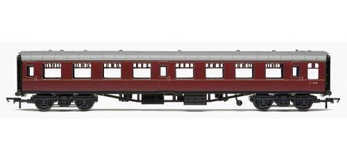 Hornby Railroad 00 Gauge Br Mk1 Tourist Second Open Coach (Maroon)