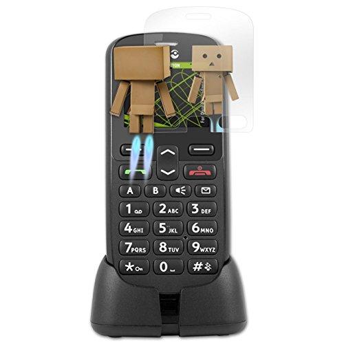 atFolix Bildschirmfolie kompatibel mit Doro PhoneEasy 508 Spiegelfolie, Spiegeleffekt FX Schutzfolie