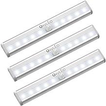 OxyLED Sensor luz del armario,LED luz del armario,bajo el armario,funciona