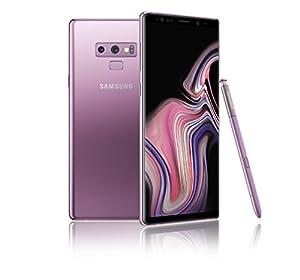 Samsung Galaxy Note 9 (Single SIM) 128 GB 6.4-Inch Android 8.1 Oreo UK Version SIM-Free Smartphone – Lavender Purple