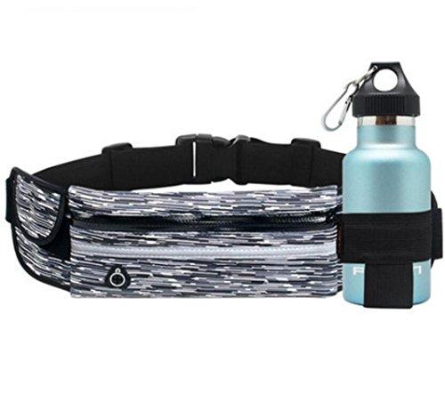 OOFWY Bum taschen Fanny Pack, Sport Taille Pack, Laufband, Outdoor Sport Taille Tasche, für Sport Männer und Frauen, geeignet für Reisen, Jagen, Klettern B