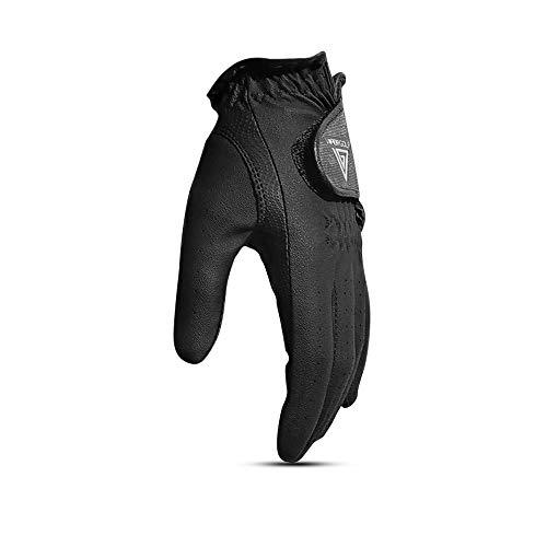 VG 2019 Men's All Weather 2.0 Black Golf Glove - Left Hand (Medium, Left)
