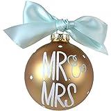 Wild coast Trading - Árbol de Navidad de la chuchería 'Mr & Mrs' 10cm