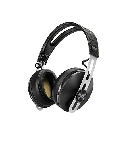 Sennheiser Momentum M2 AEBT Kopfhörer (Wireless, Bluetooth, 3,5 mm Klinkenstecker, Noise Cancelling), Schwarz Wireless Binaural Noise Cancelling Headset