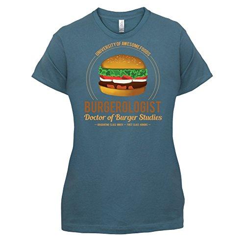 Burgerologist - Damen T-Shirt - 14 Farben Indigoblau