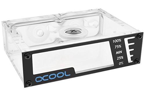 Dc Single (Alphacool 15166 Repack - Dual DC-LT - 5,25 Single Bay Station - ohne Pumpe Wasserkühlung Ausgleichsbehälter)