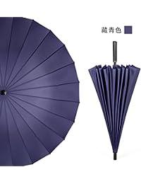 Baron W.H Mango largo paraguas 24 marco color grandes negocios PARAGUAS paraguas recto exterior paraviento Sun