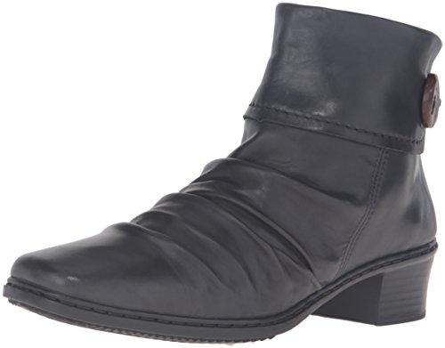 Rieker 74563 02, Bottes femme Noir