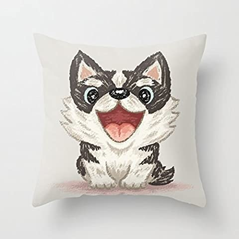 Loveloveu Throw Pillow Covers Of Dogs,for Saloon,boys,wedding,bedding,relatives,birthday 20 X 20 Inches / 50 By 50 Cm(each