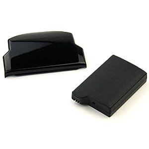 CELLONIC® XL Qualitäts Akku kompatibel mit Sony PSP Slim & Lite (PSP-2000 / PSP-2004) / PSP Brite (PSP-3000 / PSP-3004) (1800mAh) PSP-S110 Ersatzakku Batterie mit Gehäusedeckel