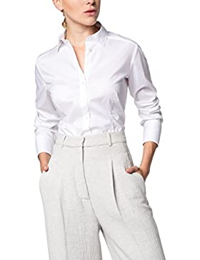 ETERNA Langarm Bluse SLIM FIT unifarben