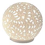 "Kugel-Lampe ""Harmonie Romantik"", 24 cm, creme"