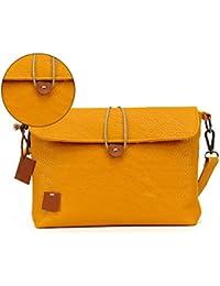 F9Q Femme sac à main Casual sacs Zipper Messenger sacs à bandoulière simili cuir